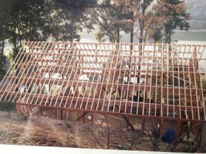 続いて屋根工事