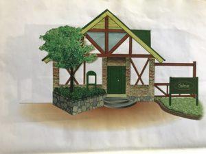 企画書の建物表