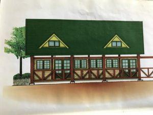 建物小野湖側イメージ